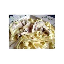 Homemade Chicken Fettuccine Ramsha