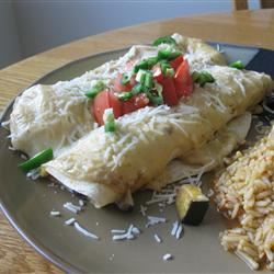 Bountiful Garden Zucchini Enchiladas mommyluvs2cook