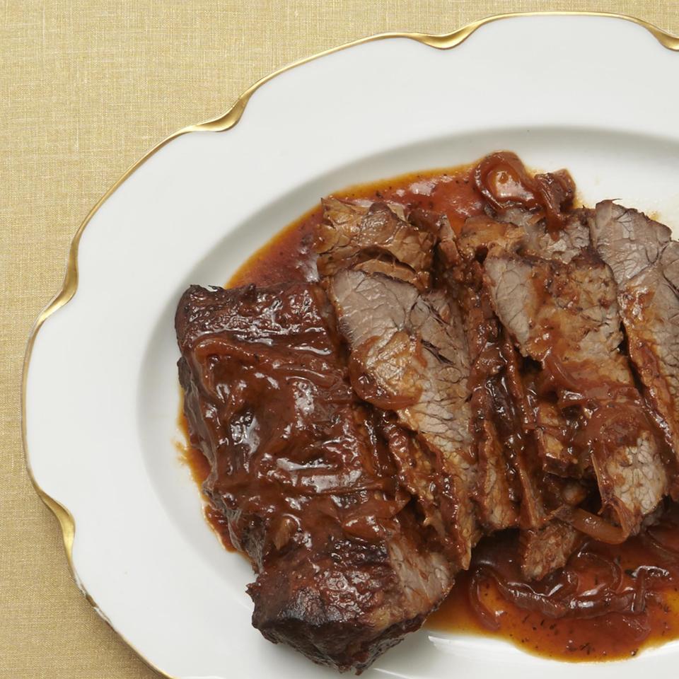 Wine-Braised Beef Brisket Allrecipes Magazine