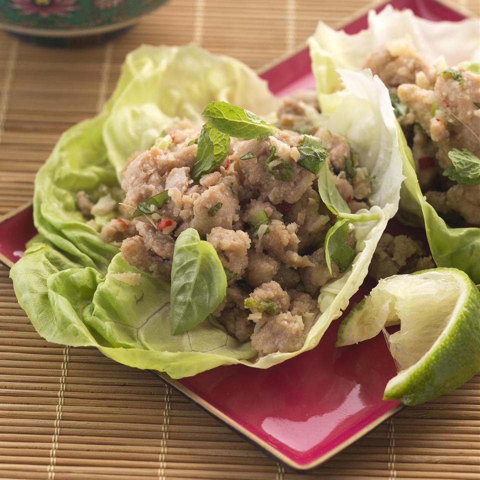Larb - Laotian Chicken Mince Allrecipes Magazine