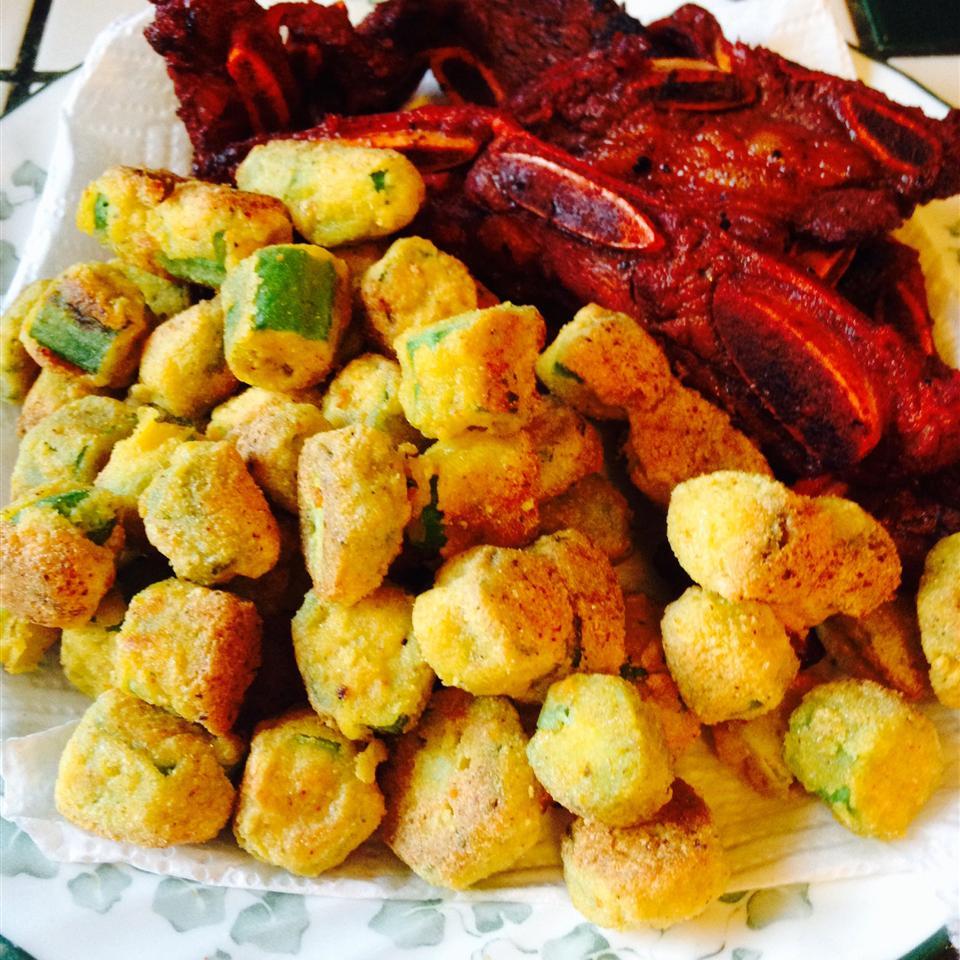 Spicy Southern-Fried Okra