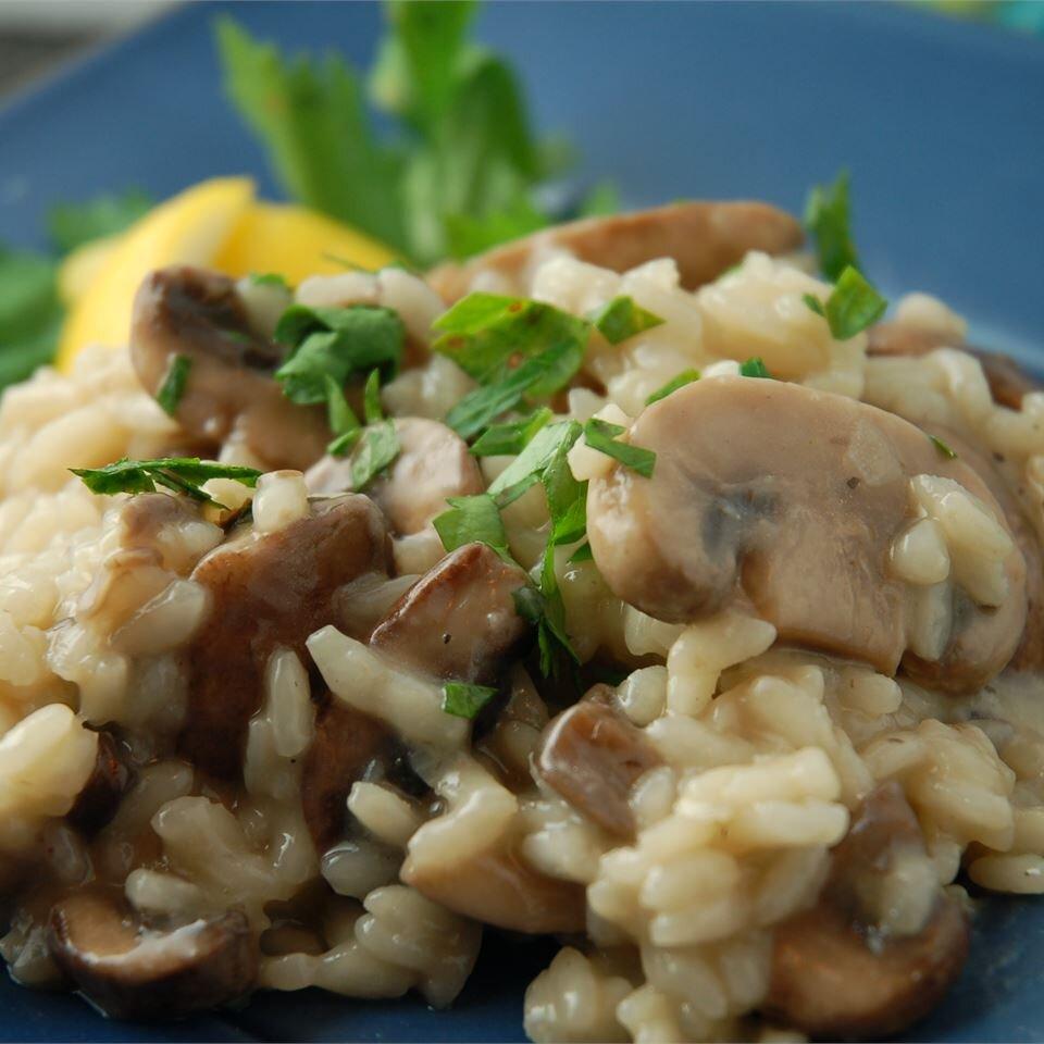 Gourmet Mushroom Risotto Recipe Allrecipes