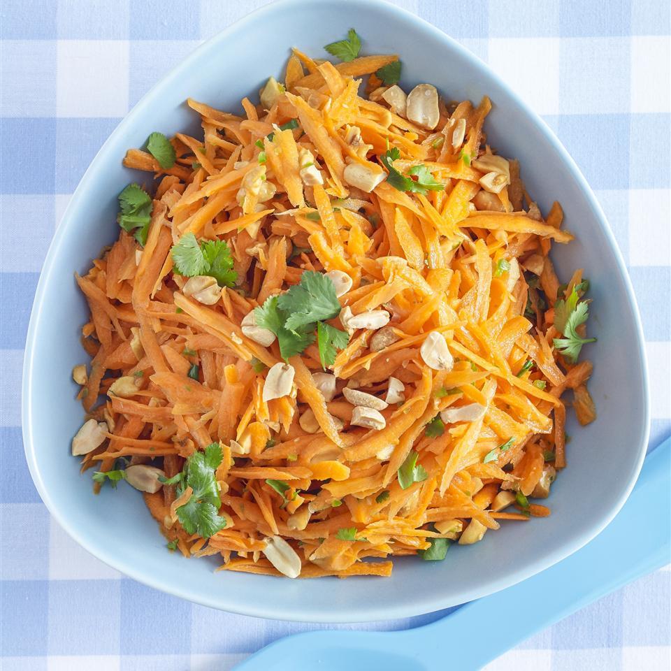 Gujarati Carrot and Peanut Salad Allrecipes Magazine