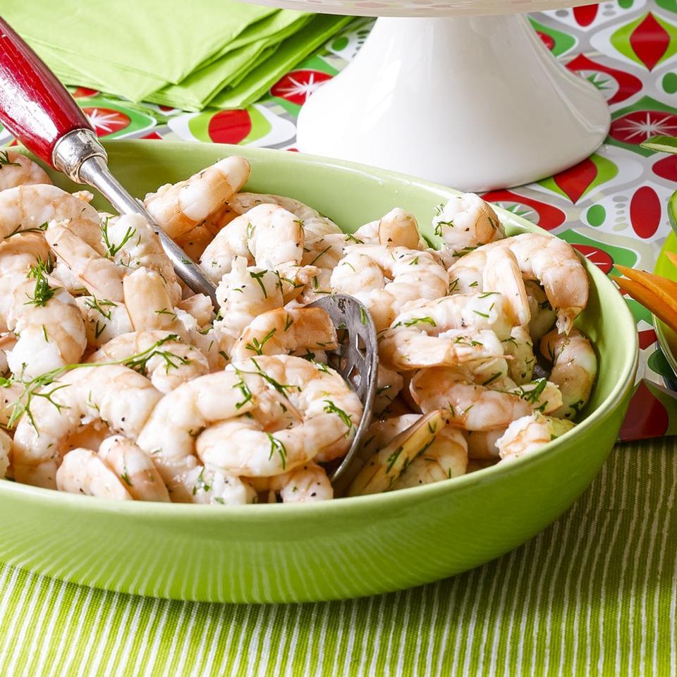 Dilled Shrimp (Rejer)