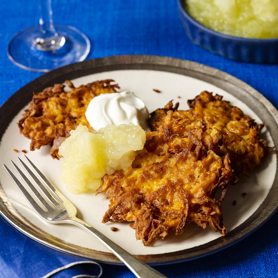 Kerry's Sweet Potato Latkes