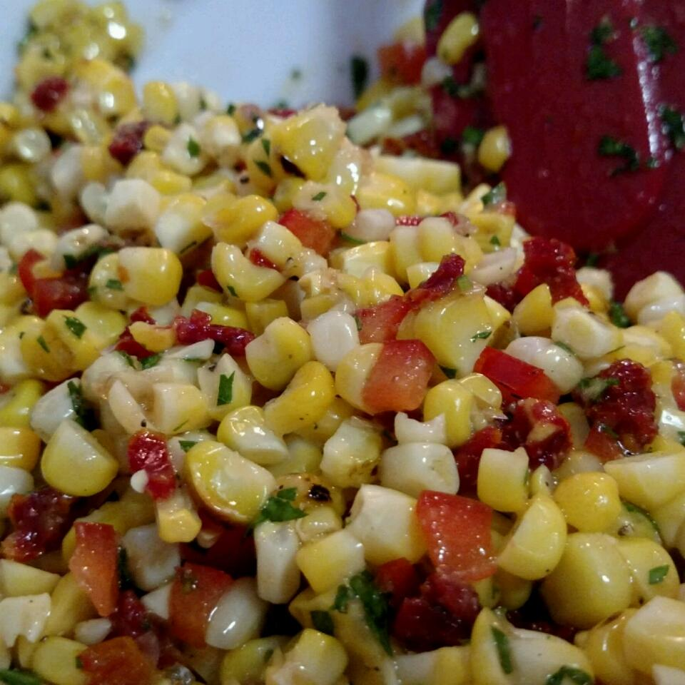 Corn Off the Cob Salad adam mikesell
