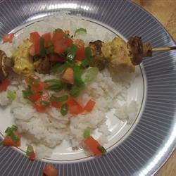 Curry Kabobs saiahsmom
