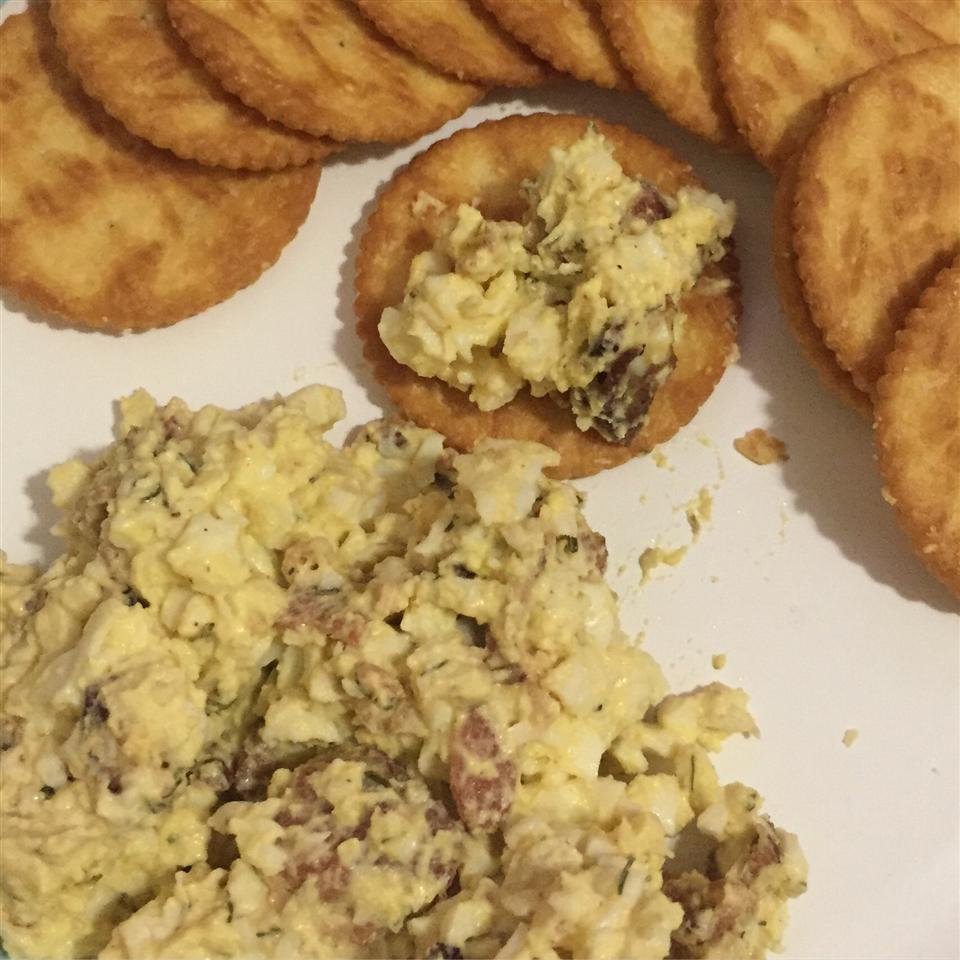 Loaded Egg Salad Racquel Rivera