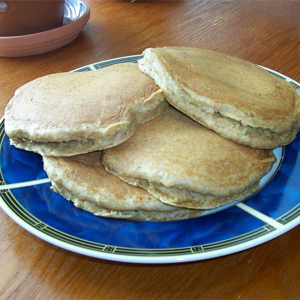 Wheat Germ Whole-Wheat Buttermilk Pancakes