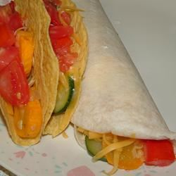 Summer Squash Burritos Reggie Ann