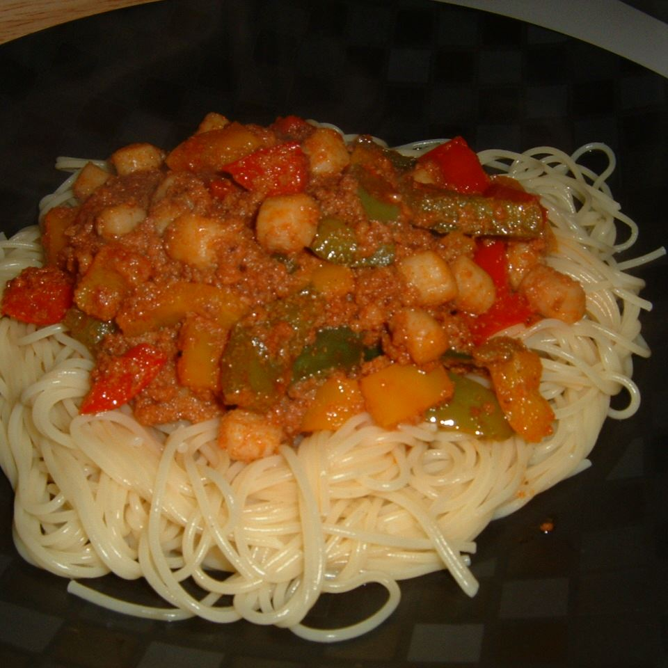 Scallop and Chorizo Pasta
