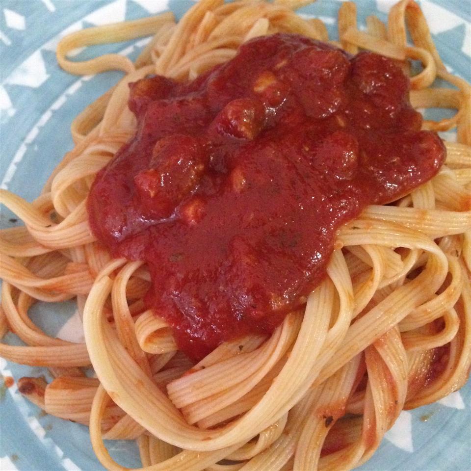 Seven Ingredient Tomato Sauce