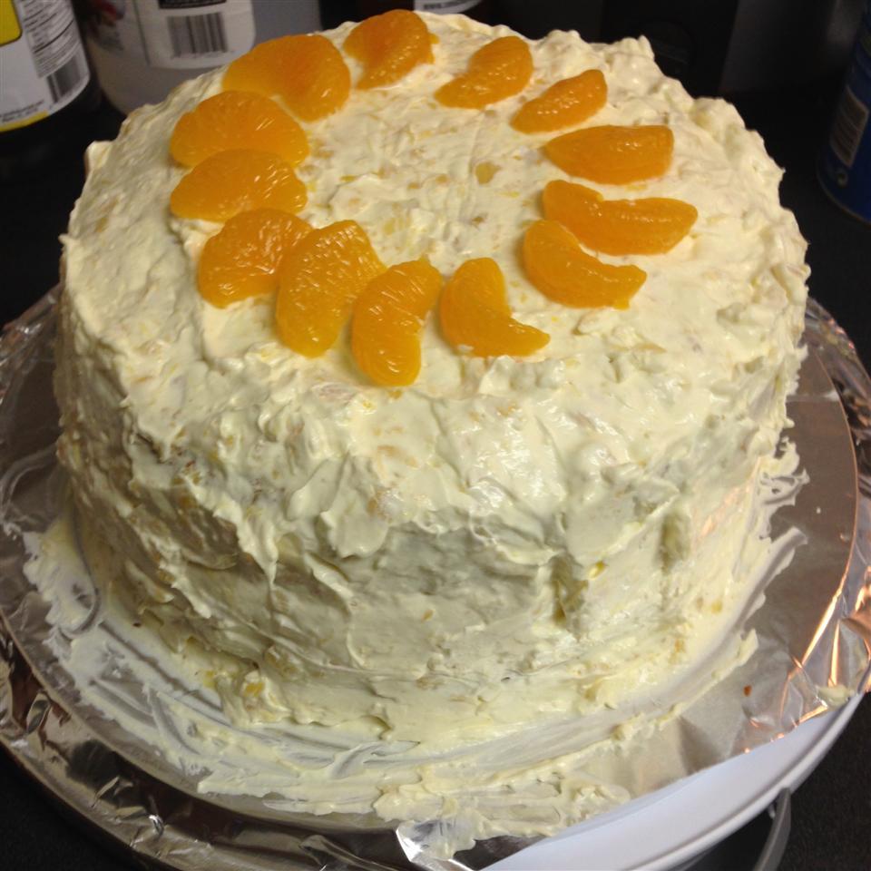 Mandarin Orange Cake I nikki