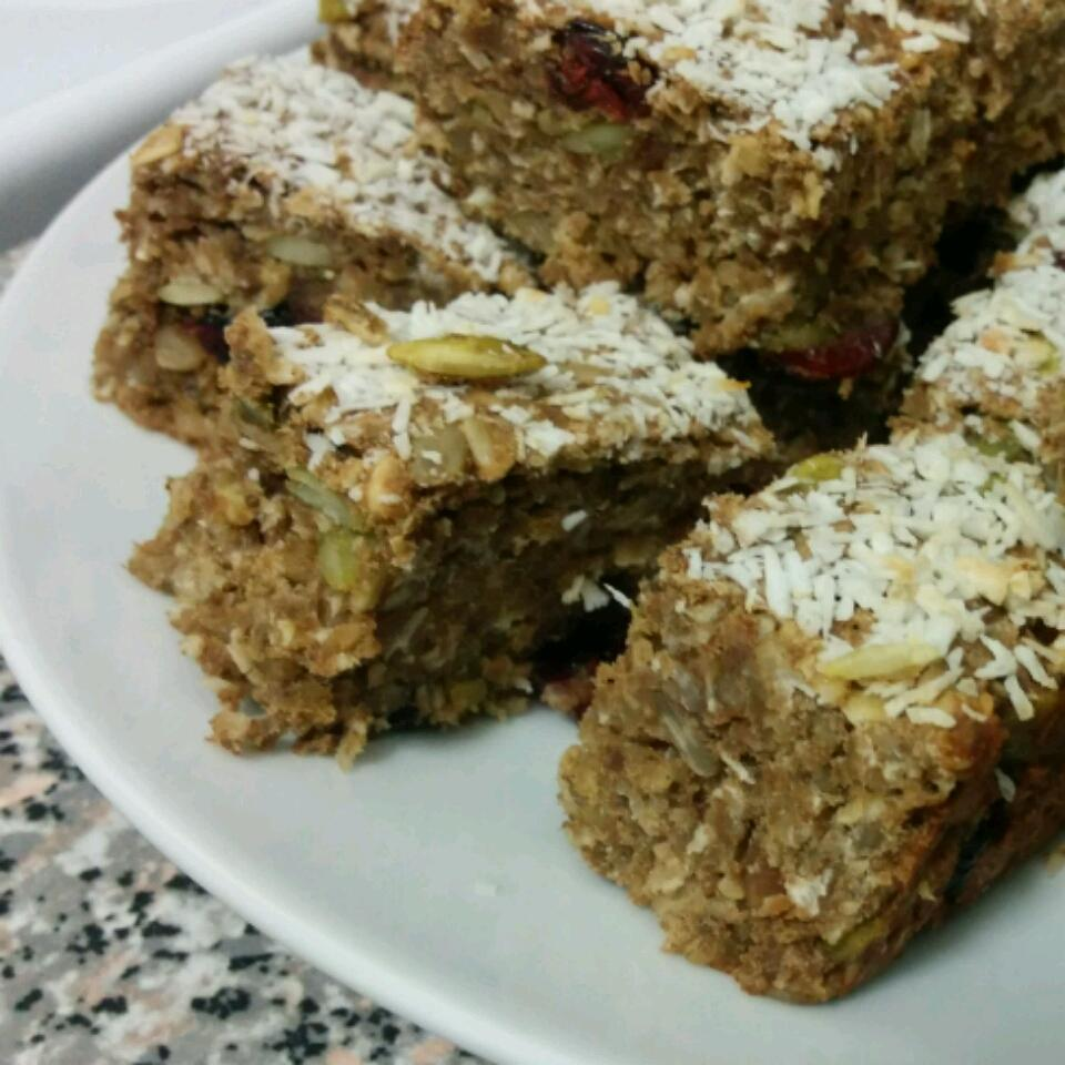 Banana Oatmeal Protein Bars