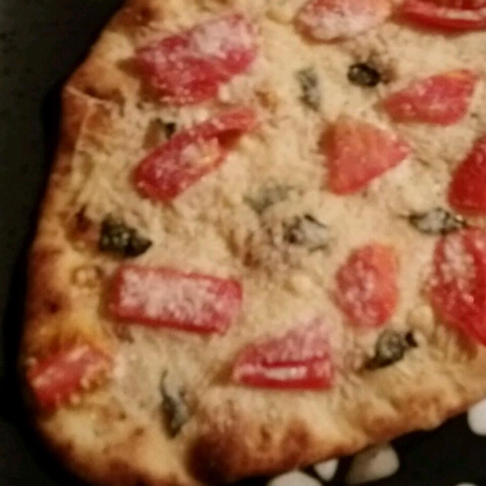 Naan Bread Margherita Pizza with Prosciutto carmckee13