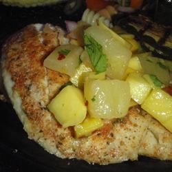 Grilled Tilapia with Mango Salsa LashGal