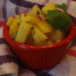 Simple Mango Salsa LashGal