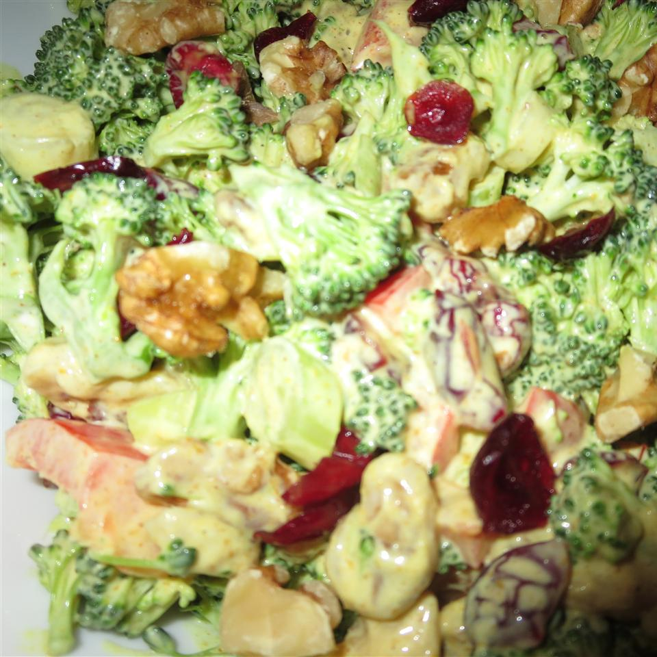 Curried Broccoli Cranberry Salad Phoebe