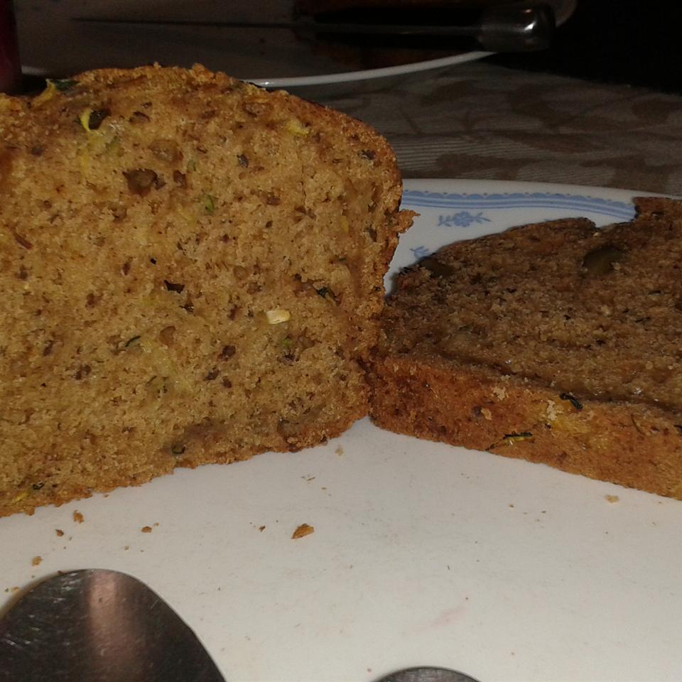 Kingman's Vegan Zucchini Bread Carmencita