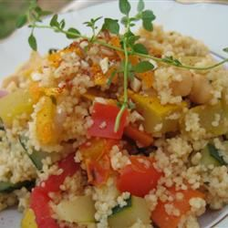 25-Minute Tunisian Vegetable Couscous KitchenWitch