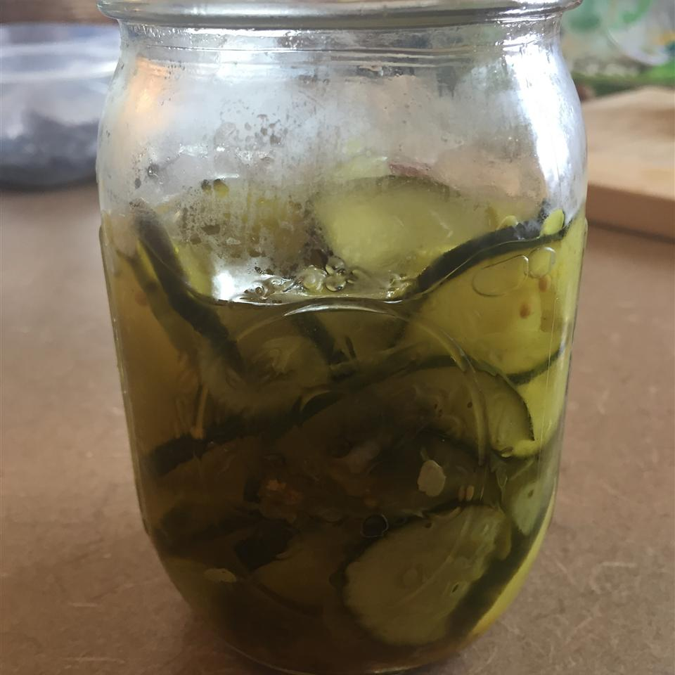 Microwave Bread-and-Butter Pickles Mishelle Bella Pudelek
