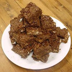 Double Chocolate Crumble Bars BISHOPV