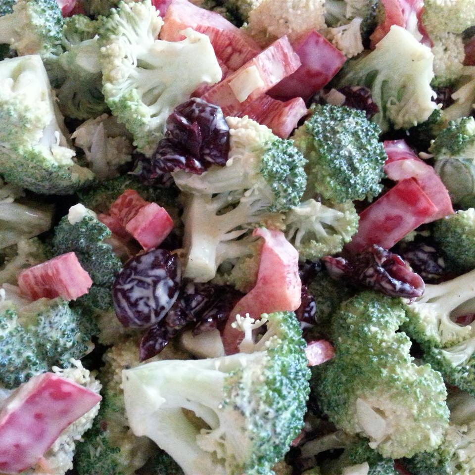 Curried Broccoli Cranberry Salad