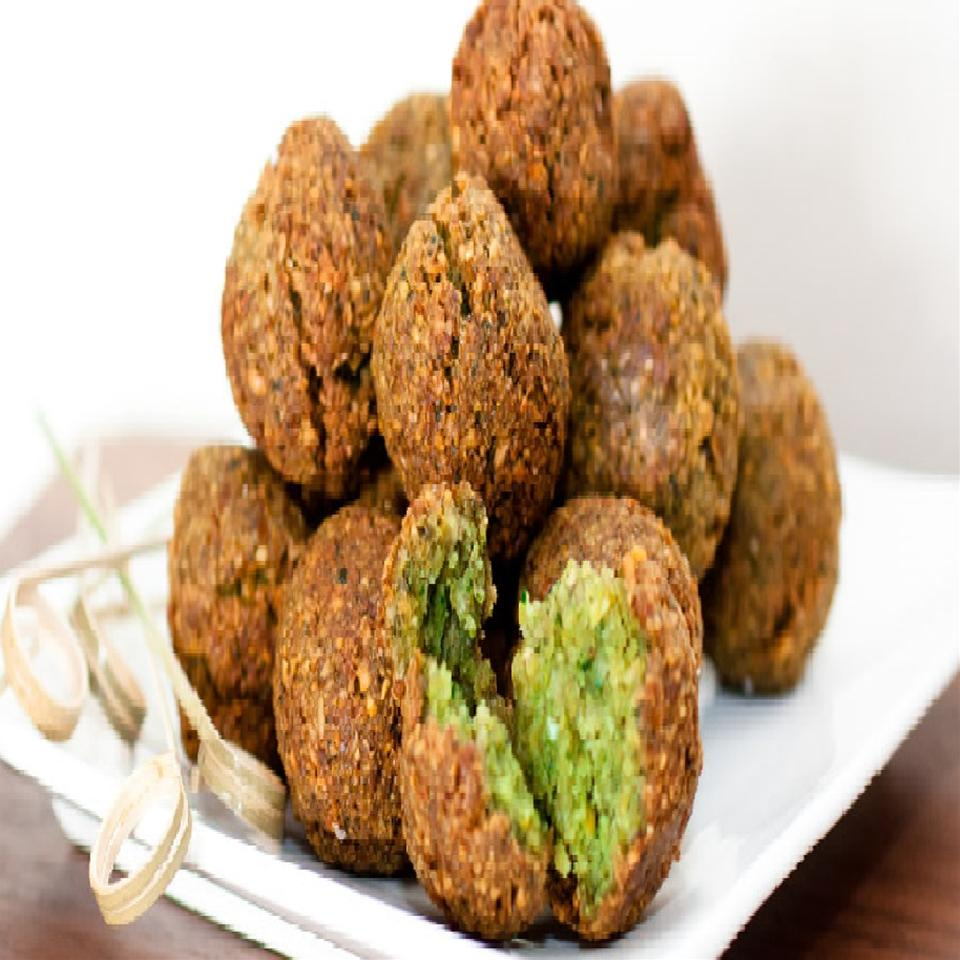 Falafel with Canned Chickpeas Dani
