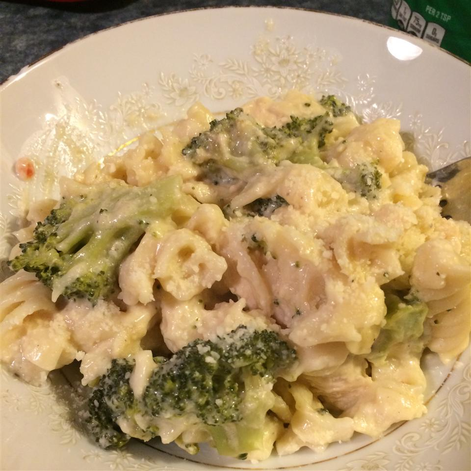 Lemon Chicken & Broccoli Alfredo