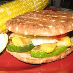 California Grilled Veggie Sandwich