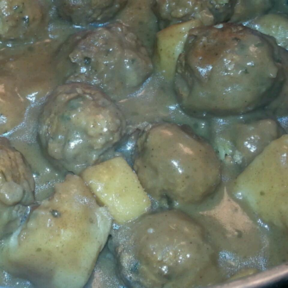 French Canadian Meatball Stew Nancy Carreiro