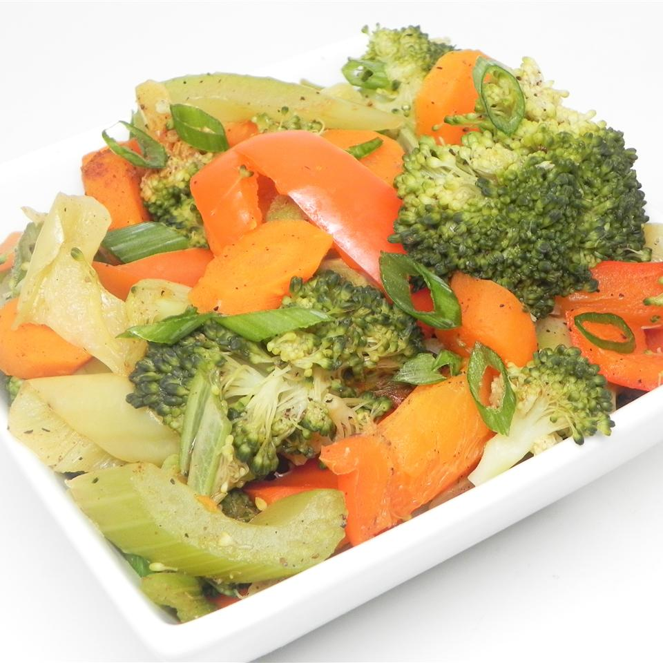 Garlic Seasoned Vegetables Soup Loving Nicole