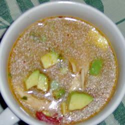 Mexican Chicken Soup SANDIKAYCOOKS