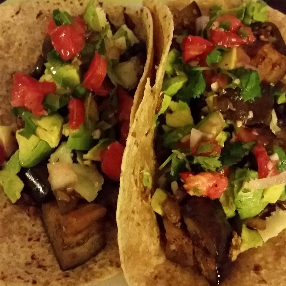 Eggplant Tacos Diane McCauley