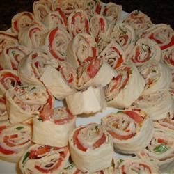 Zesty Tortilla Roll Ups Amanda