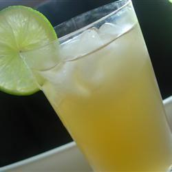 Sweet Lime Iced Tea larkspur