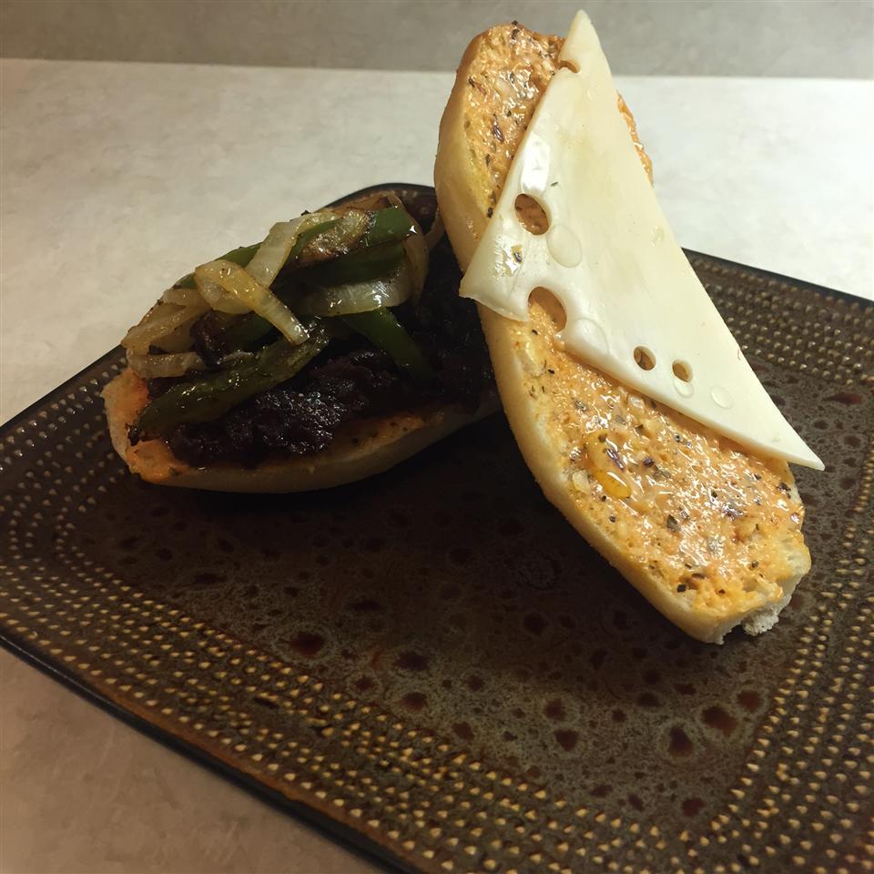Philly Steak Sandwich Connor Manning