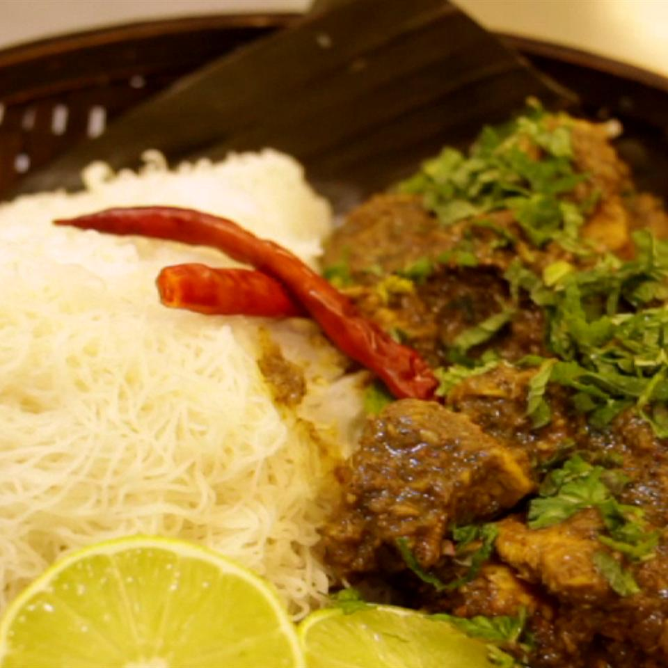 Azalina's Mint Chicken Curry The Gruntled Gourmand