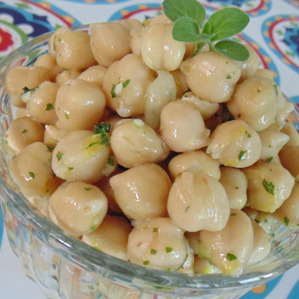 Marinated Chickpeas