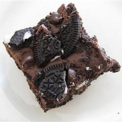 Double Chocolate Cookie Bars