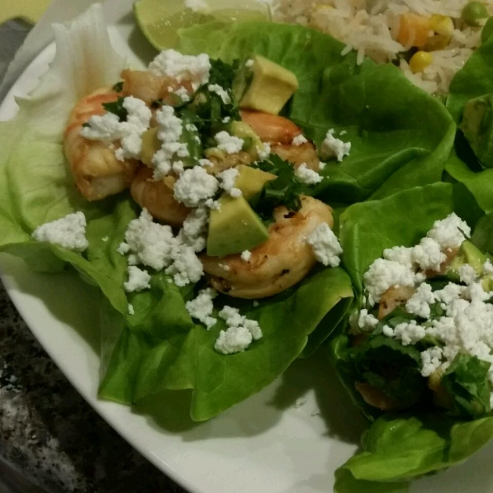 Mojito Shrimp Lettuce Wraps Elvira Silva
