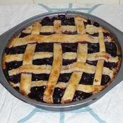 Fresh Blueberry Pie II lklklklklklklklklklklk