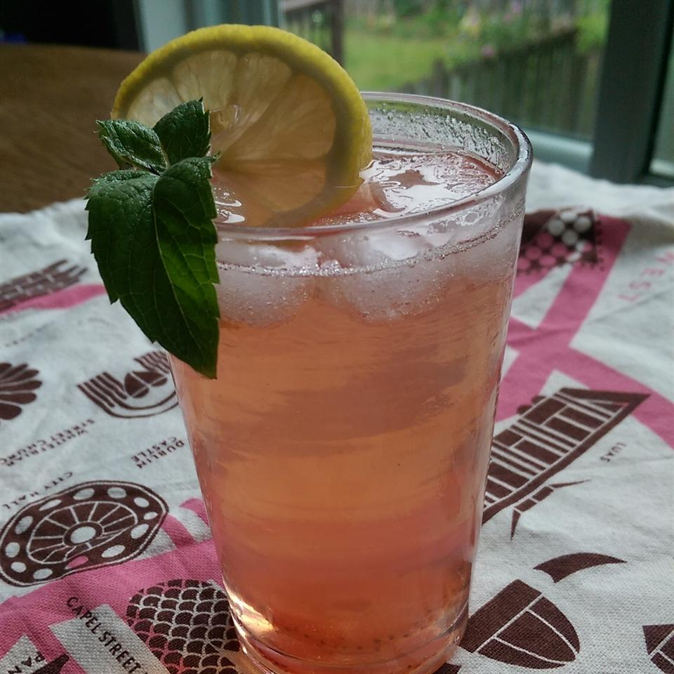 Strawberry, Ginger and Mint Sekanjabin
