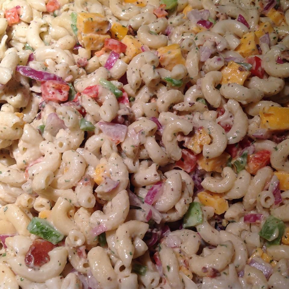 Bacon Ranch Macaroni Salad Rhonda Fomby
