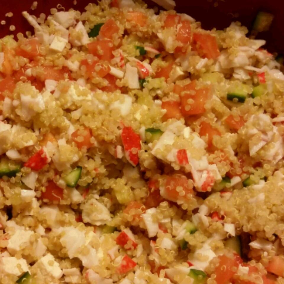 Quinoa Crab Salad Recipe Allrecipes