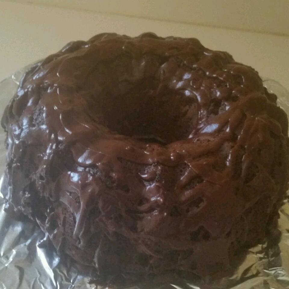 Satiny Chocolate Glaze Rhonda