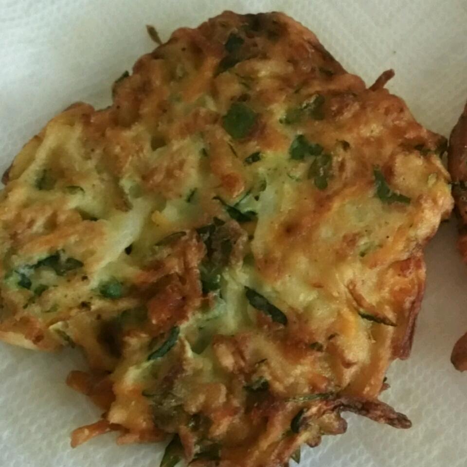 Vegetable and Feta Latkes