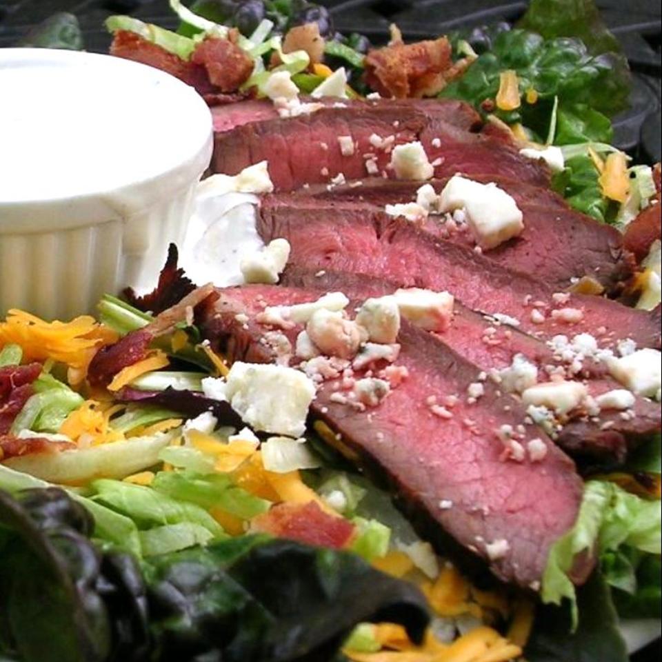 Bacon Blue Cheese Flat Iron Salad Patricia
