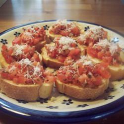 Nikol's Garlic Bruschetta Food Junkie