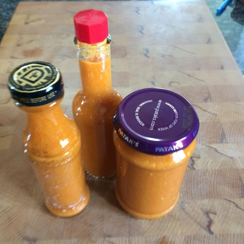 Hot Pepper Sauce - A Trinidadian Staple